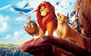 roi lion rocher